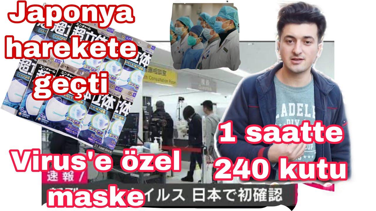 CORONA VIRUSU JAPONYA DA (japonlar nasil bir onlem aldi)OZEL MASKE