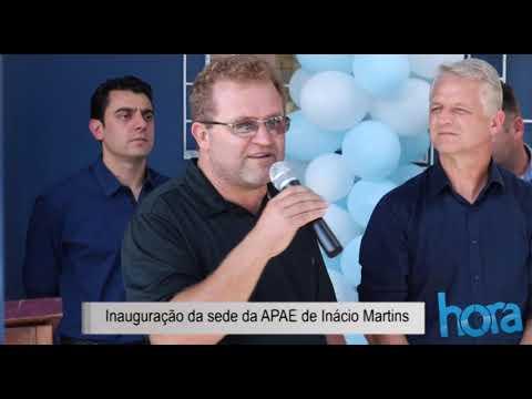 Nova sede da APAE é inaugurada em Inácio Martins