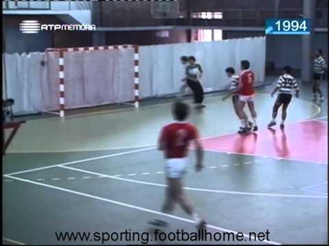 Andebol :: Benfica - 24 x Sporting - 17 de 1989/1990 - Supertaça - 3 Jogo