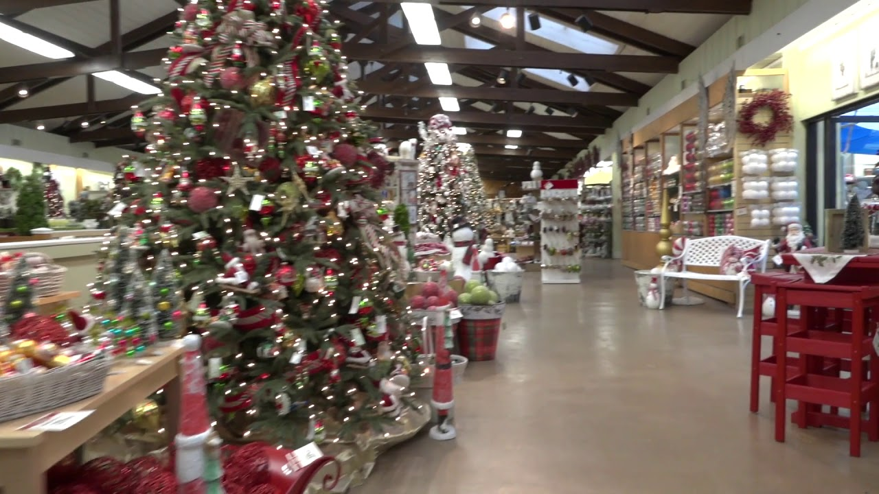stauffers mechanicsburg home garden store christmas tour - At Home Store Christmas Decorations