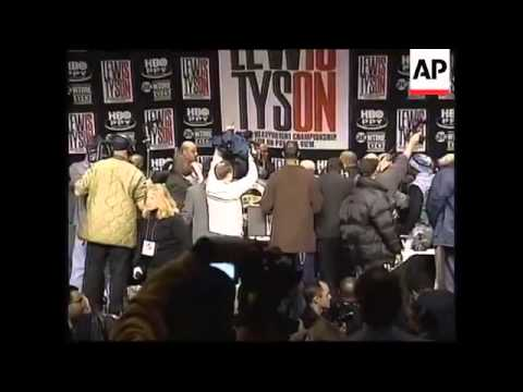 Mike tyson   'lennox lewis press conference