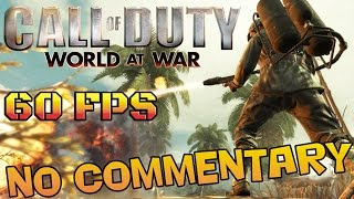 Call of Duty: World At War - Full Game Walkthrough  【NO Commentary】 【60FPS】