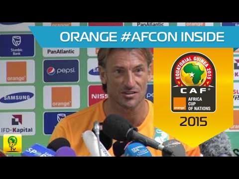 Côte D'Ivoire - Conférence de presse (06/02) - Orange Africa Cup of Nations, EQUATORIAL GUINEA 2015