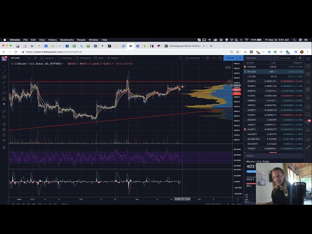 Bitcoin About To Break? Raven Coin up %100!! Arcane Bear Updates