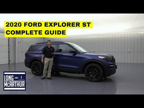 2020 FORD EXPLORER ST COMPLETE GUIDE STANDARD AND OPTIONAL EQUIPMENT