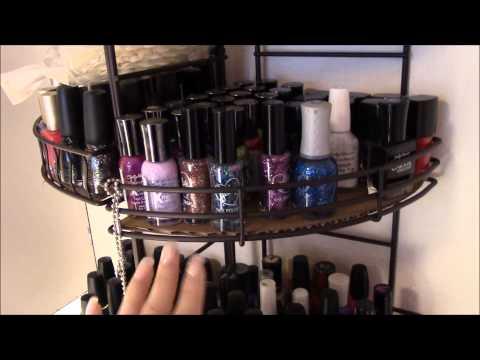 My Nail Area w/ New Nail Salon Table