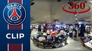 Live 360 exclusif avec les joueurs du Paris Saint-Germain