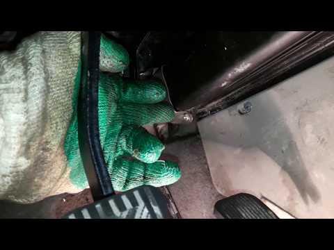 Замена печки калина без снятия панели