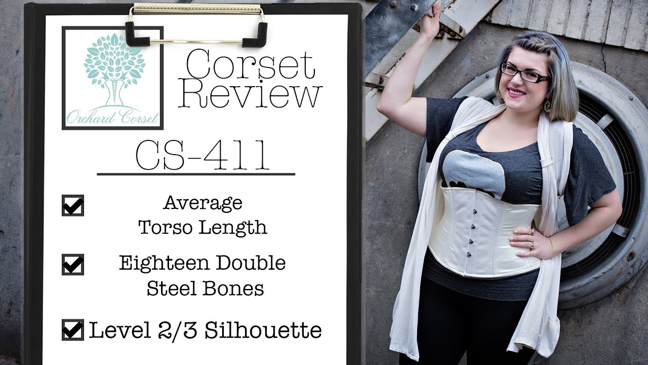 f27a0cb836c Orchard Corset Product Review  CS 411 Underbust Corset - YouTube