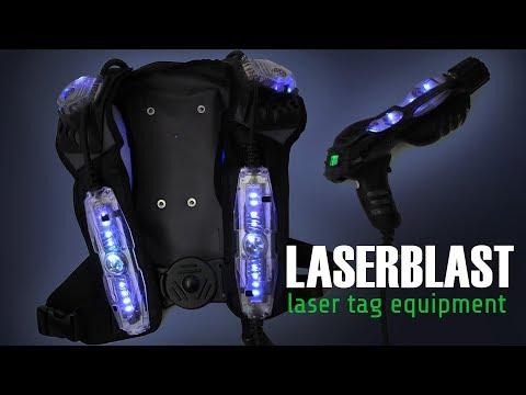 Laser Tag Equipment - Play Cyberblast