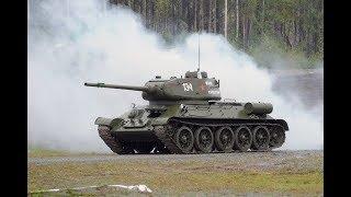 Ветеран ВОВ сел в кабину танка и поразил инструкторов