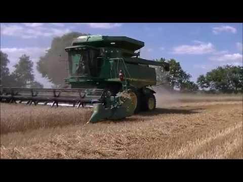 SK Farms 2016 Wheat Harvest 1