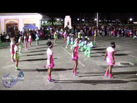 St George's Dancerettes At St Georges Santa Parade, Dec 8 2012