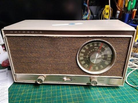 Motorola BT16BN Vacuum Tube FM AM Radio Repair