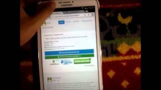 Cara Download Dan Install BBM di Tab (Jelly Bean)