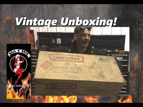 Unboxing and Using a Rare Vintage Oxyacteylene Torch from 1960