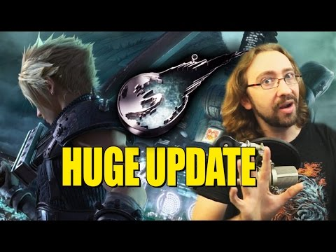 What's Going On With Final Fantasy 7 Remake?! HUGE 2017 UPDATE