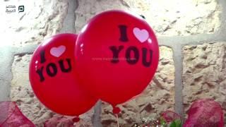 مصر العربية   فلسطينيون يحتفلون بـ