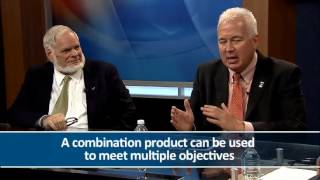 How can life insurance long-term care hybrid products fit into a retirement income plan