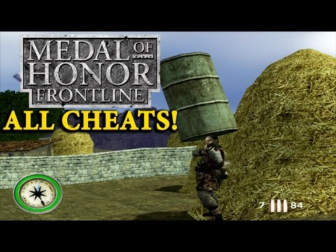 Medal of Honor Frontline - All Cheats On