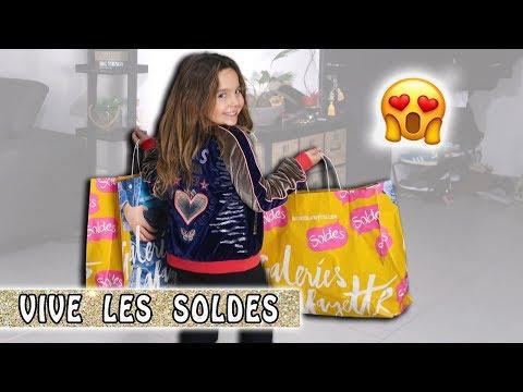 SOLDES ENFANT : Quand Jen fait les soldes / HAUL / Family Vlog