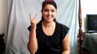 Learn ASL in 31 Days: Day 5 :: Family