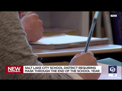 Masks Required Until End Of Year In Salt Lake School District