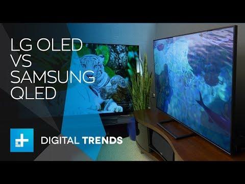 LG OLED vs Samsung QLED - TV Technology Shootout