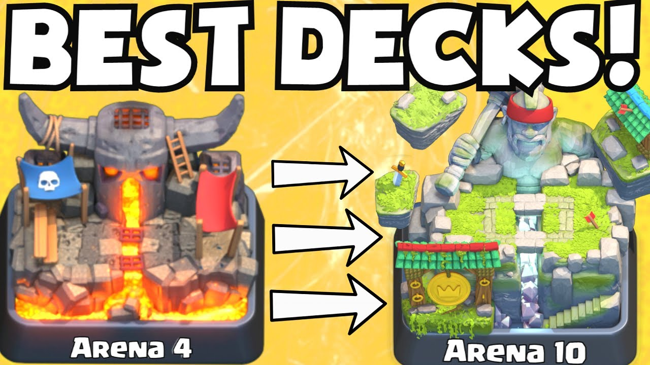 clash royale best deck for arena 4 arena 10 decks undefeated best attack strategy tips f2p. Black Bedroom Furniture Sets. Home Design Ideas