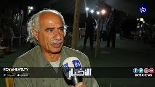 الفلسطينيون يواصلون فعاليات تضامنهم مع أهالي الخان الأحمر المهدد بالهدم - (25-9-2018)