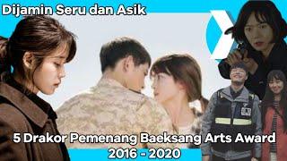 5 Drama Korea (Drakor) Peraih Baeksang Arts Award dari 2016 - 2020