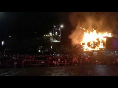 Arde Ravachol con Pontevedra de loito