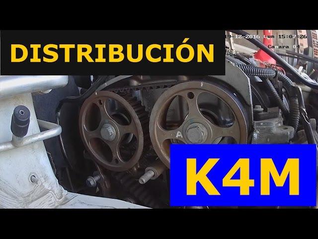 Correa DISTRIBUCIÓN K4M y Puesta a Punto, Renault SANDERO Privilege 2013 - PASO A PASO su reemplazo.