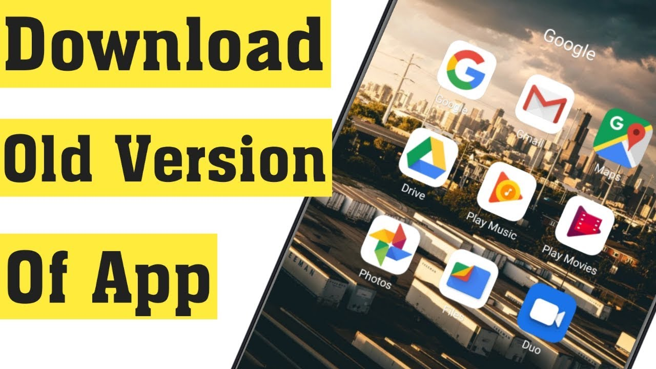How to Download Older Version of App in Android Mobile & iOS 10