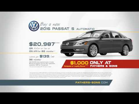 Fathers Sons Volkswagen