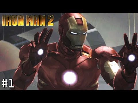 Iron Man 2 - Xbox 360 Playthrough Gameplay - Mission 1: The Stark Archives