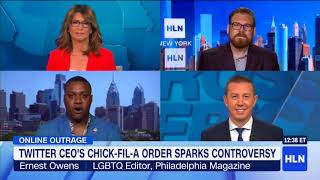 HLN: Kissel Discusses The Chick-Fil-A Controversy