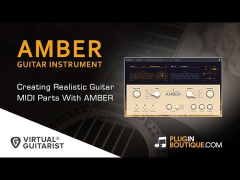 virtual guitarist amber first look doovi. Black Bedroom Furniture Sets. Home Design Ideas