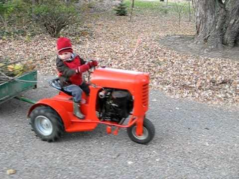 1956 Bantam Garden Tractor Model 5000 Youtube