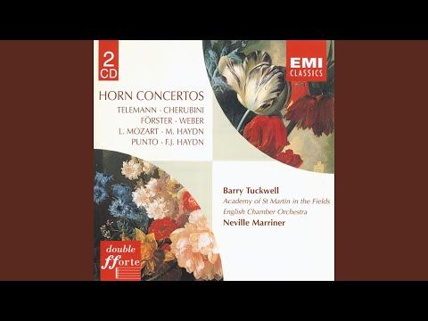 Horn Concerto No. 5 in F Major: I. Allegro moderato