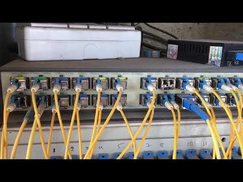 Fiber Hub Servers Room