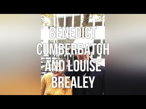 Benedict Cumberbatch And Louise Brealey