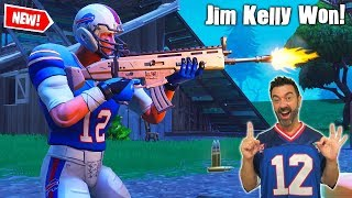 Winning with Jim Kelly of the Buffalo Bills - Fortnite Battle Royale - My ARMY Bills Story