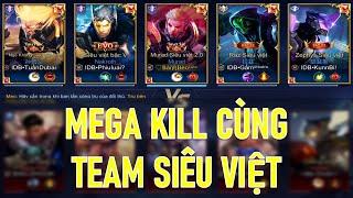 MURAD đi lane rồng ăn MegaKill cùng team Siêu Việt Liên quân mobile aov
