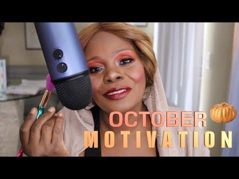 ASMR Brushing The Mic Motivation October thumbnail
