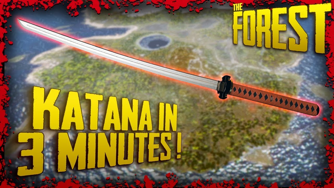 How To Find The Katana In 3 Minutes! | The Forest Tutorial