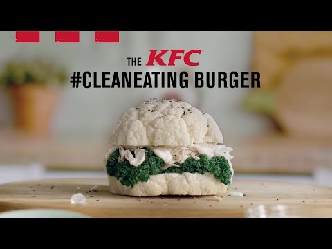 The KFC Clean Eating Burger