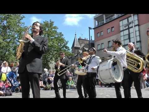 Mardi Gras event at the Edinburgh Jazz Festival July 2015