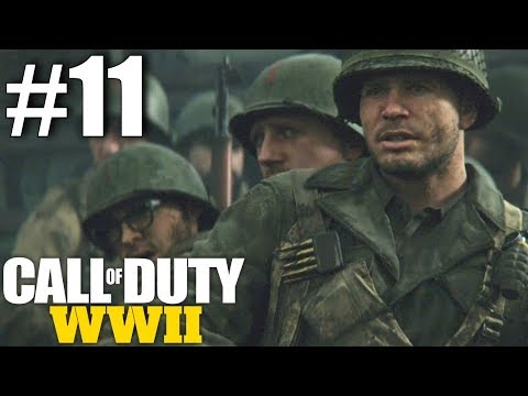Call of Duty: WWII Campaign - Part 11 - The Rhine! (Remagen, Germany)