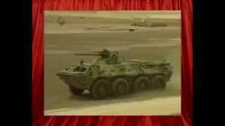 БТР-80А  российская военная техника демонстрация возможностей